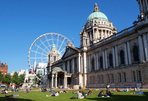 Belfast Foto Panorama