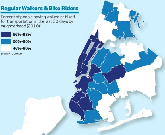Fußgänger New York