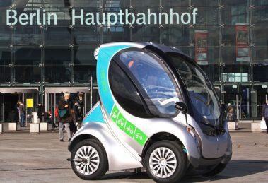 Berlin Faltbares Elektroauto Hiriko Fold