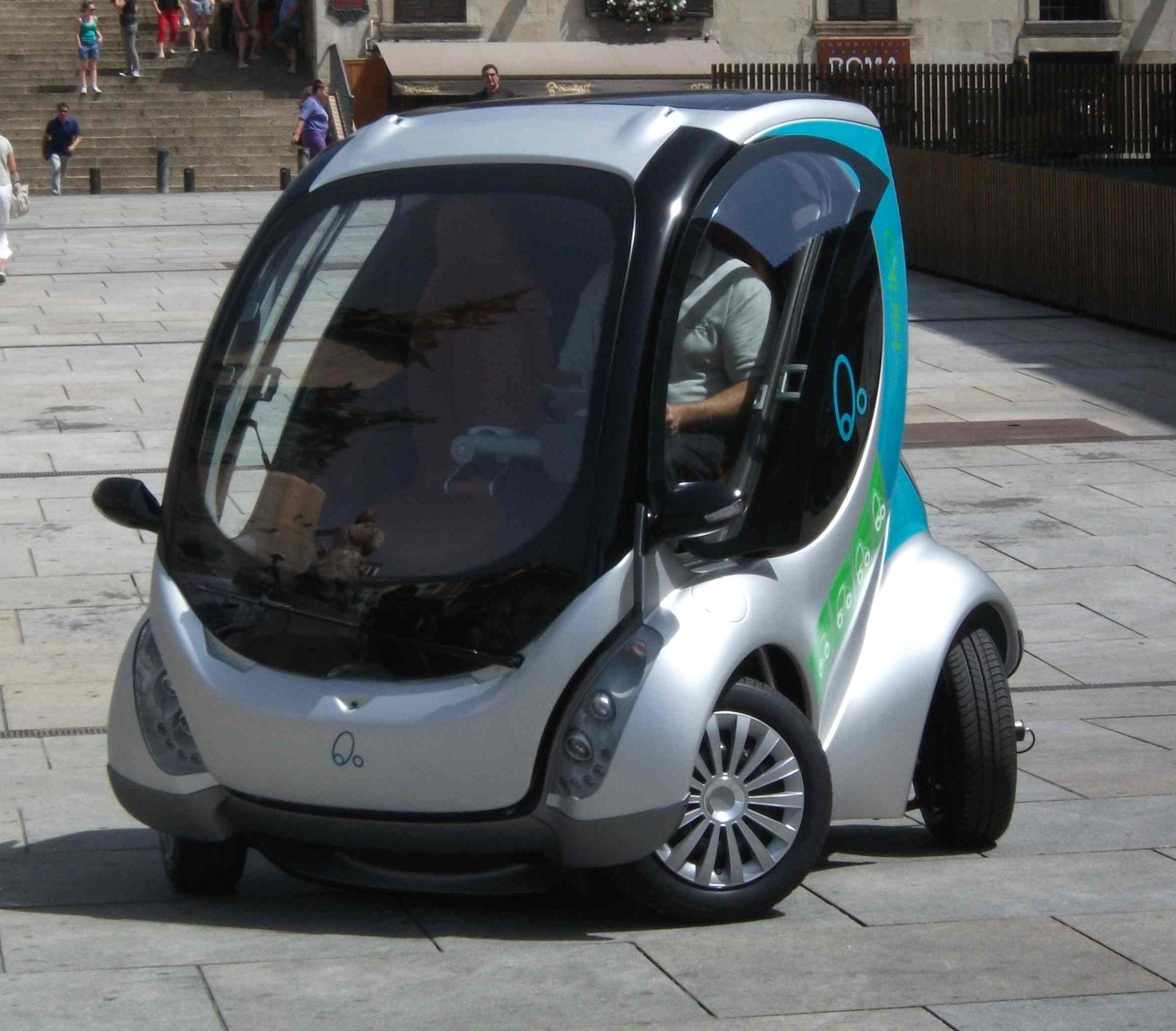 Hiriko Fold Fronansicht Elektrofahrzeug MIT