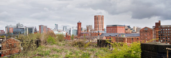 Panorama von Leeds