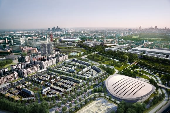 Queen Elizabeth Olympic Park in 2030