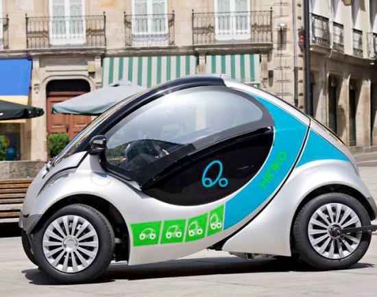 MIT Hiriko Fold Elektroauto