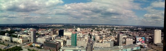 panorama warschau Polen
