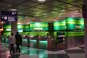 Europcar Counter am MUC