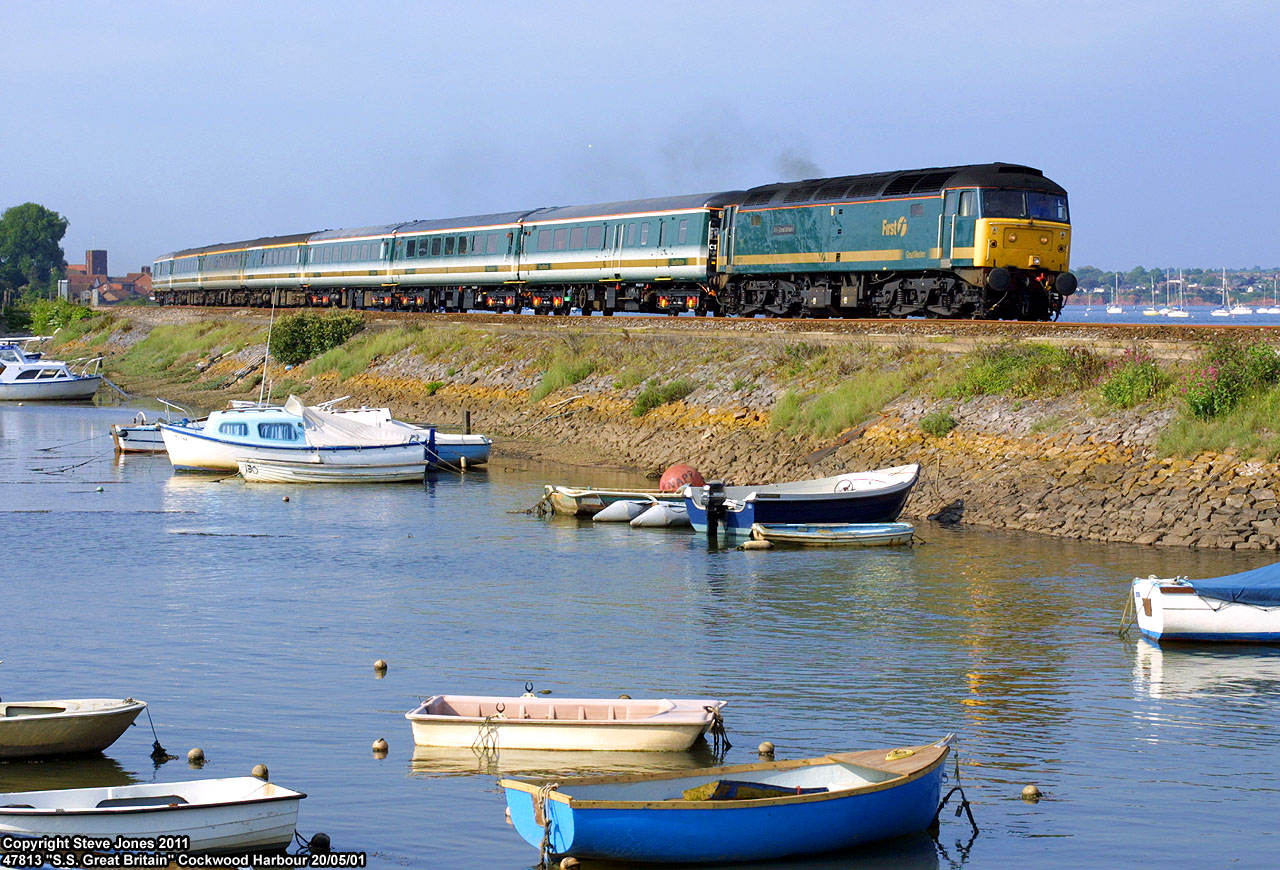 West Coast Main Line Zug UK FirstGroup