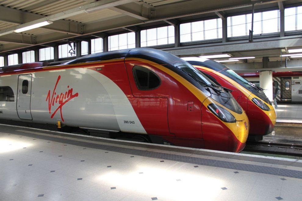Großbritannien Virgin Trains London