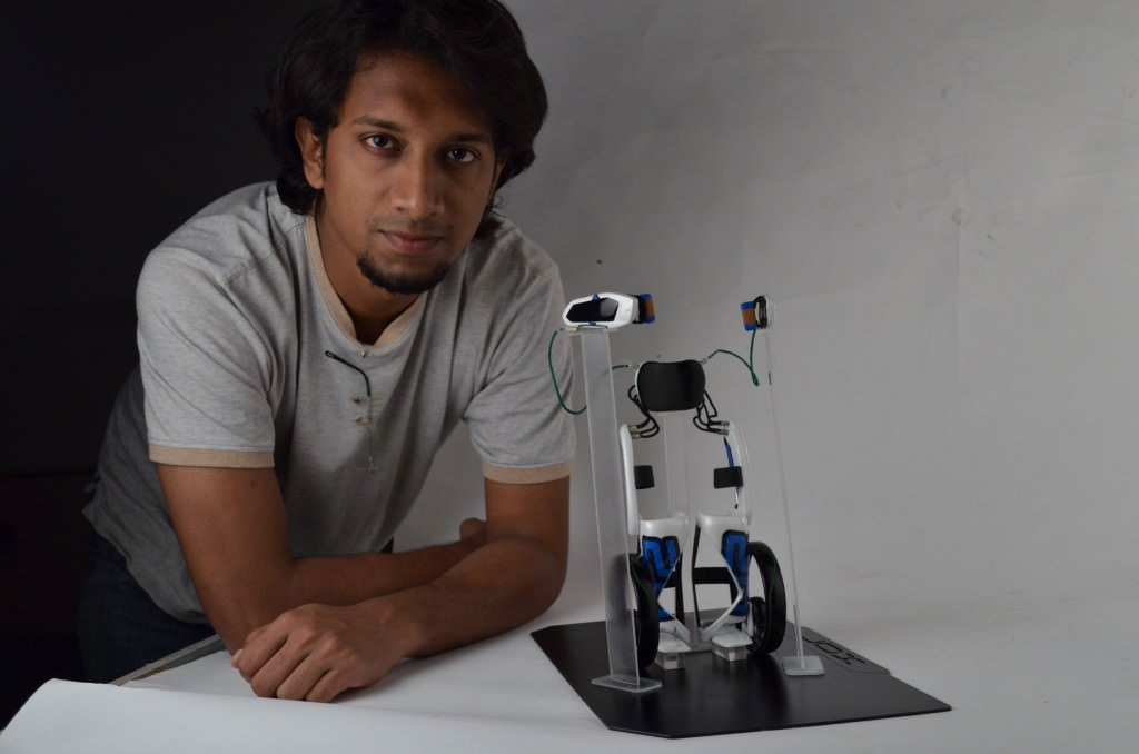 Bimal Rajappan XOR Exoskelett