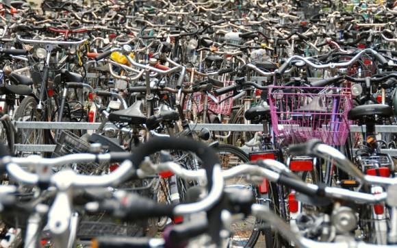 Fahrradparkplatz Masse Münster
