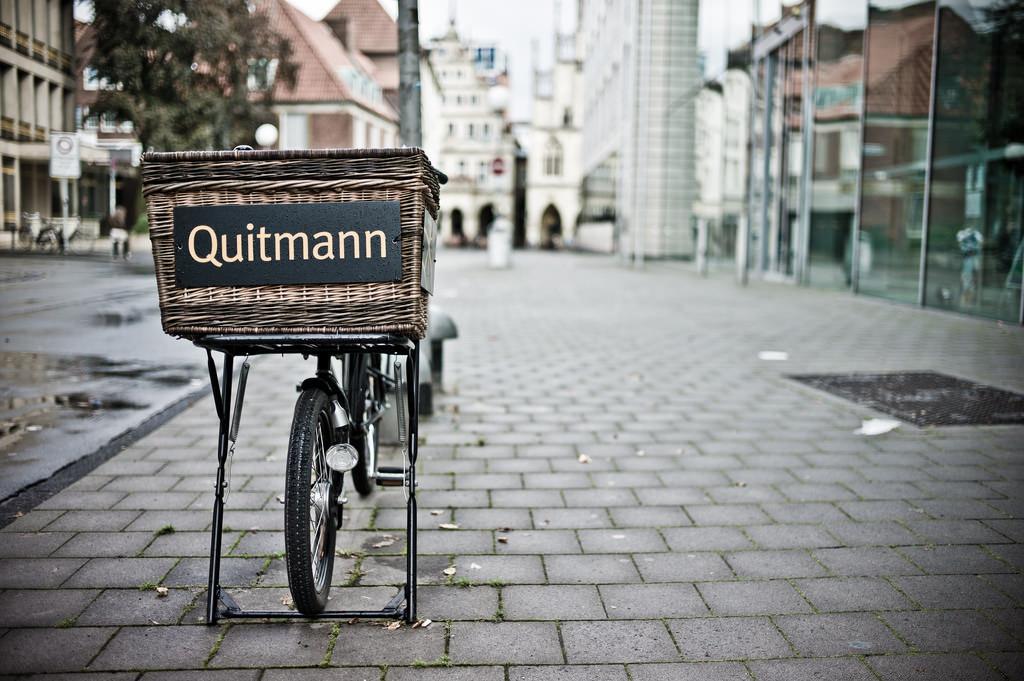Lastenfahrrad in Münster