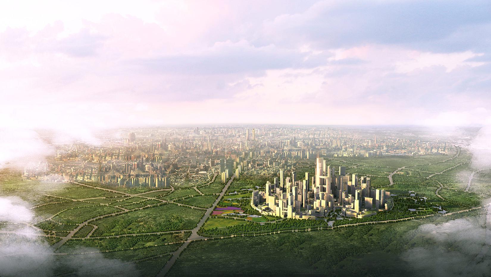 Chengdu Visualisierung