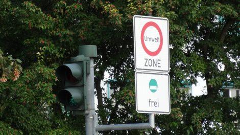Umweltzone Schild