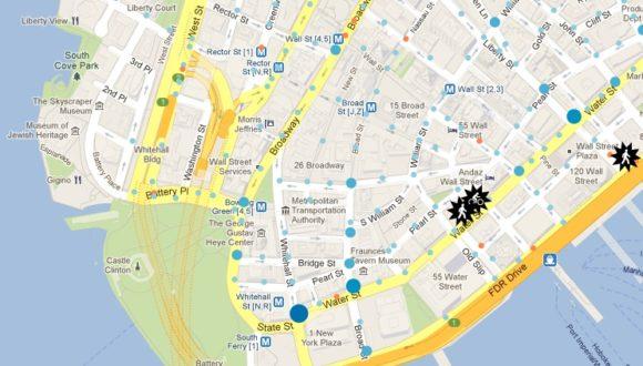 Verkehrsunfälle in new York
