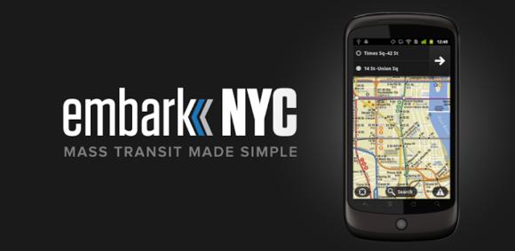 Banner EMBARK NYC APP