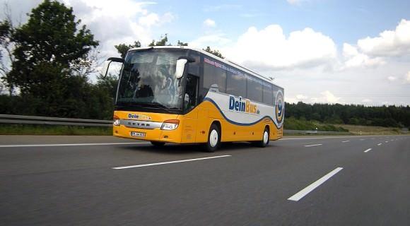 DeinBus.de Fernverkehr Fernbus Autobahn