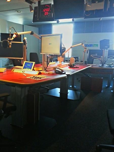 Wo das Intervie statt fand: Radiostudio Vier im MDR Landesfunkhaus Dresden
