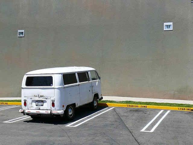 Symbolfoto für ein Parkplatz