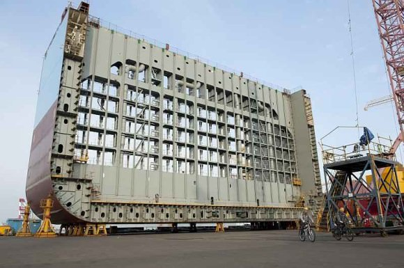 Triple-E Maersk Groesse Vergleich