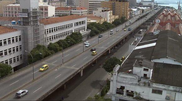 Hafenstraße Rio de Janeiro