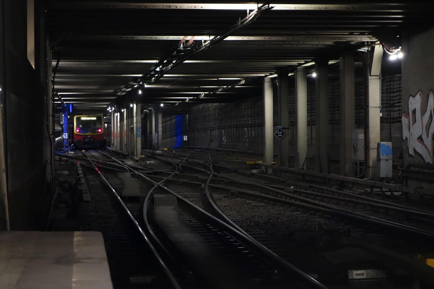 Kehranlage S-Bahn Berlin Nord-Süd-Tunnel Potsdamer Platz Heuboden