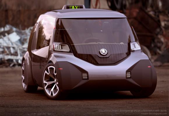 Neues Taxikonzept für Mailand vomnMaxim Shershnev und Tigran Lalayan