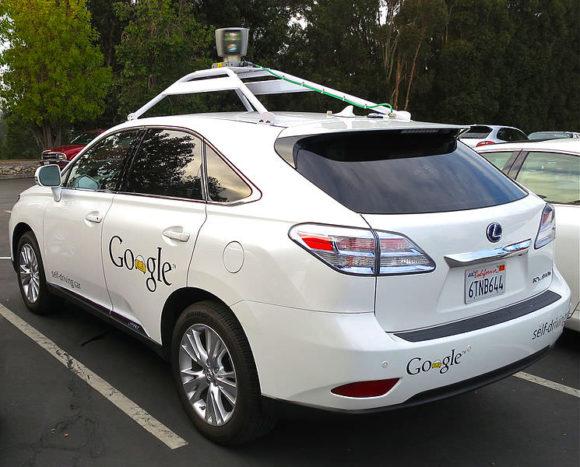 Googles autonomes Fahrzeug Lexus