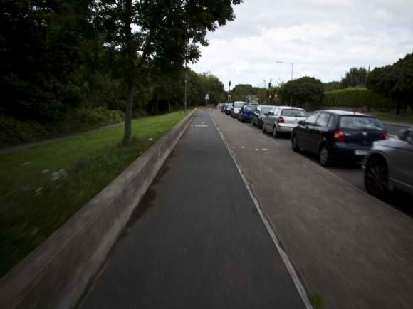 Dublin Infrastruktur Radweg