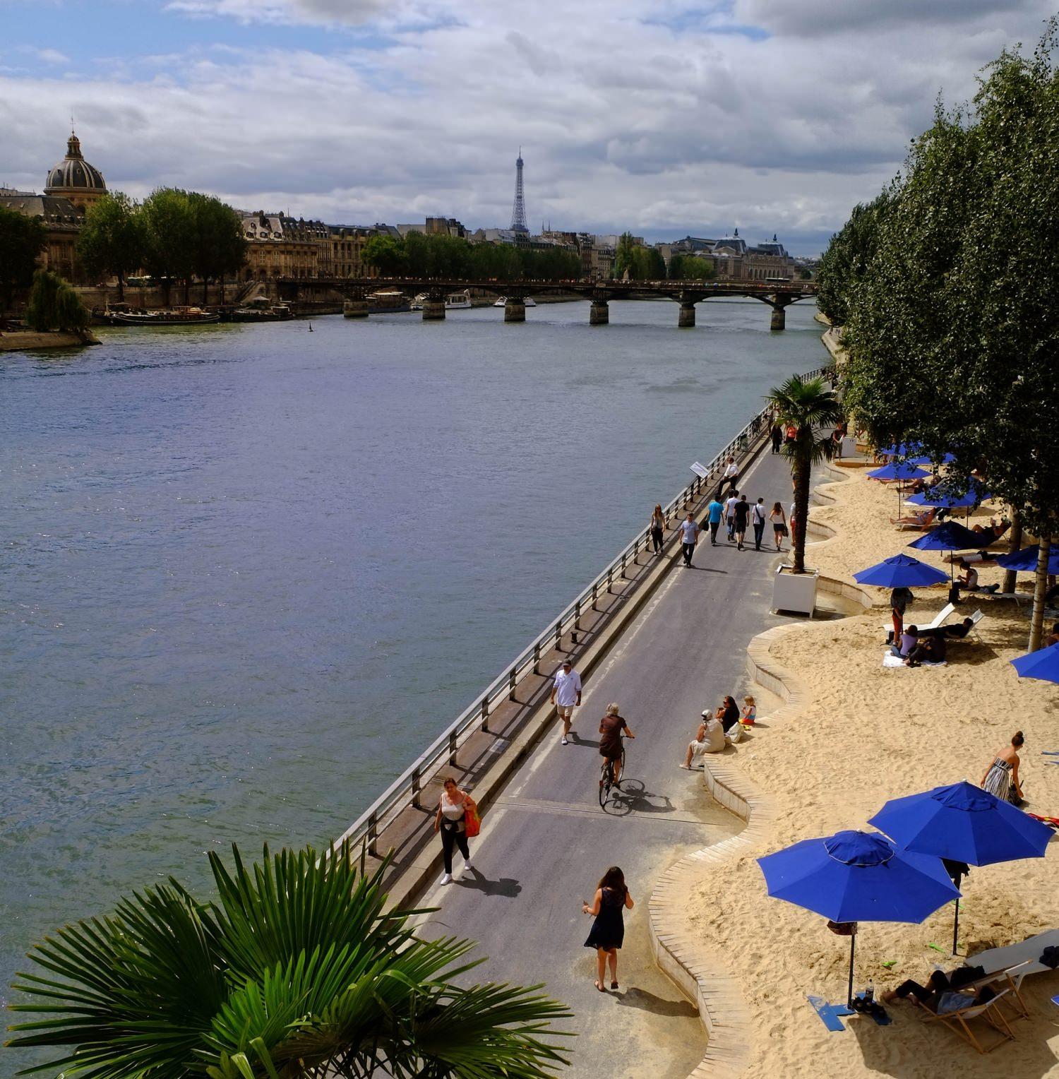 Strand Paris Seine Stadt