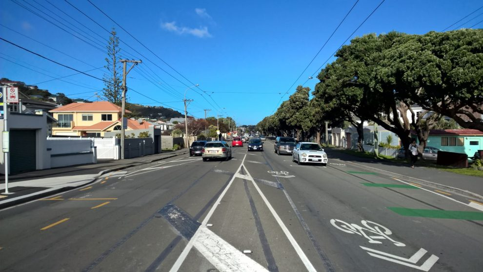 Radverkehr in Wellington
