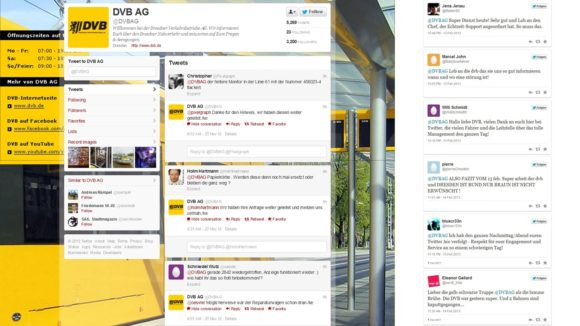 DVB Twitter Lob und Hinweise