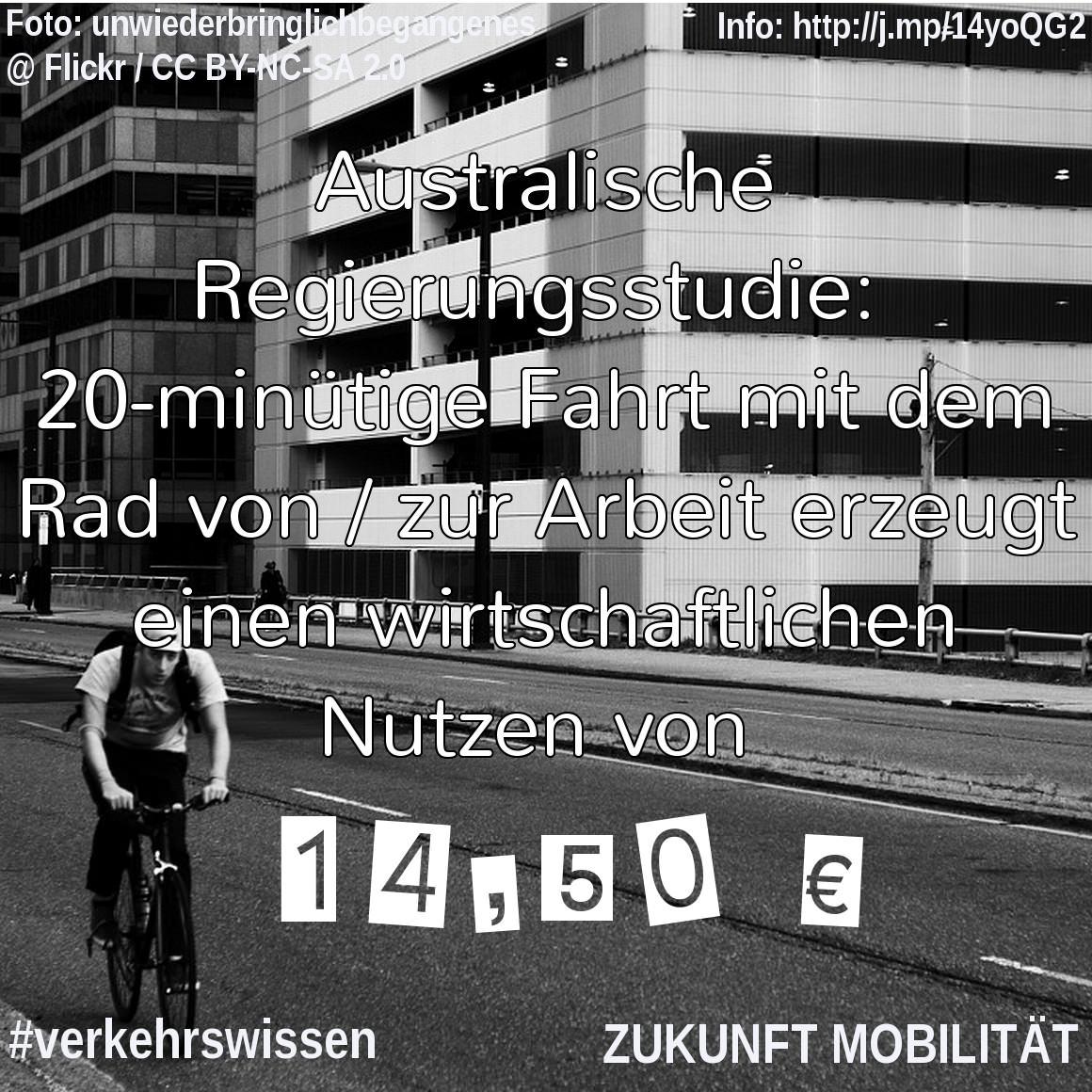 Verkehrswissen kompakt] Wirtschaftlicher Nutzen des Radverkehrs ...