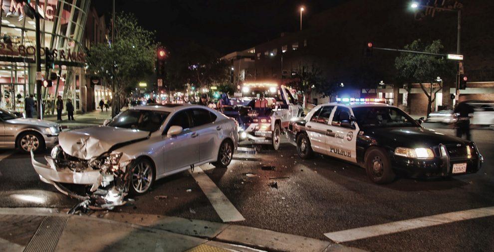 Verkehrsunfall in den USA