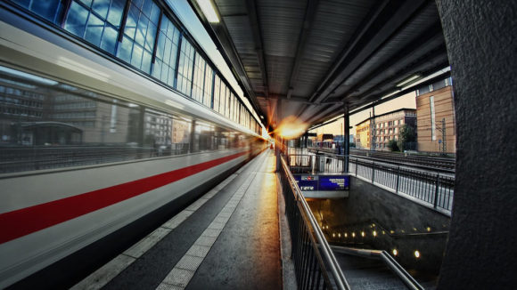 IC HDR-Aufnahme Eisenbahn Bremen