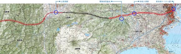 (Shinagawa) Tōkyō nach Yamanashi