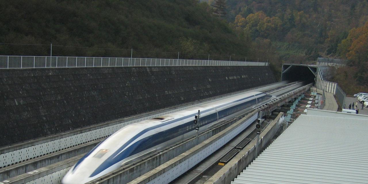 """Chūō-Shinkansen: 500 km/h schnelle Magnetschwebebahn zwischen Tokio und Osaka (Fertigstellung: 2045)<span class=""""wtr-time-wrap after-title"""">~<span class=""""wtr-time-number"""">16</span> Minuten Lesezeit</span>"""