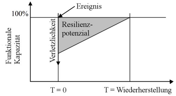 Wirkung Resilienz Schema Schutz kritischer Infrastrukturen