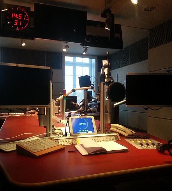 Radiostudio MDR Interview Martin Randelhoff Dresden