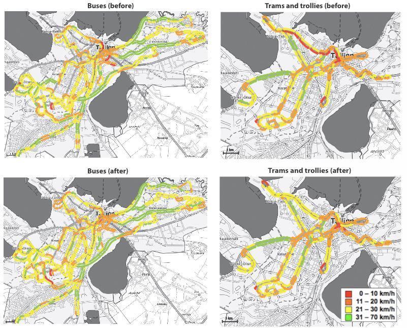 Tallinn Nulltarif Wirkung Geschwindigkeit