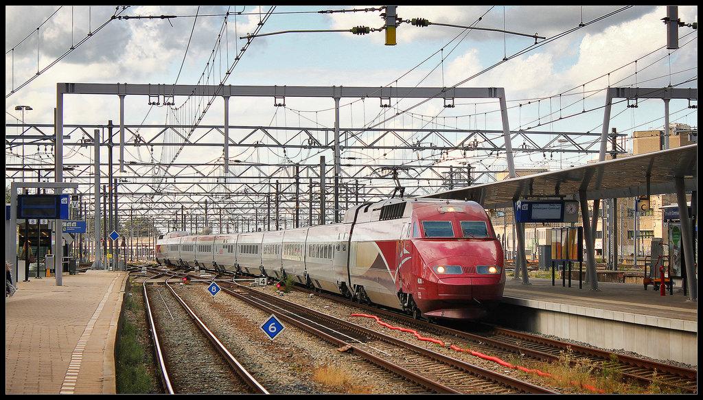 Thalys in Utrecht