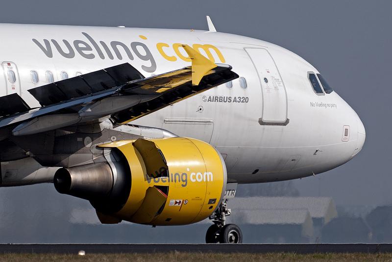 A320 der Vueling LCC Amsterdam