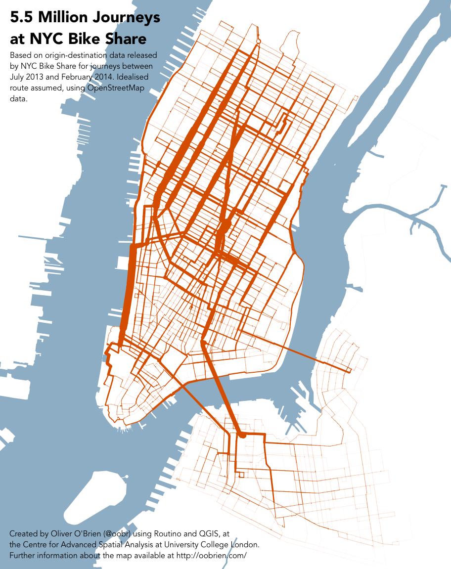 Bikesharing Visualisierung