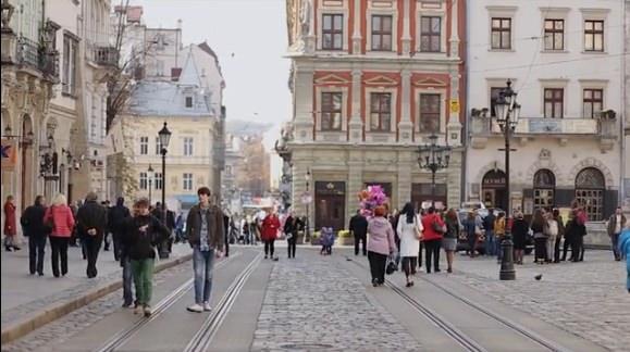 Altstadt Lviv Ukraine Lemberg