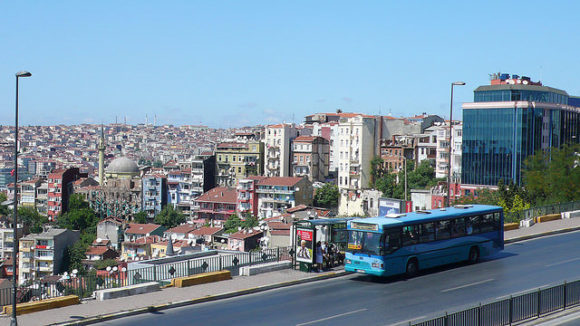 Bus in Istanbul