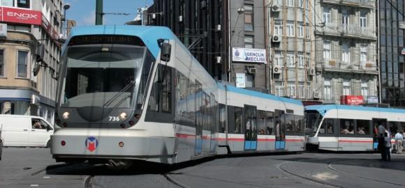 Istanbul Tram T1 Bombardier Flexity