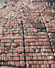 Bagcilar Luftbild Istanbul