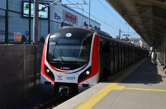 Marmaray Zug in Istanbul