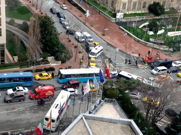 Istanbul Verkehr