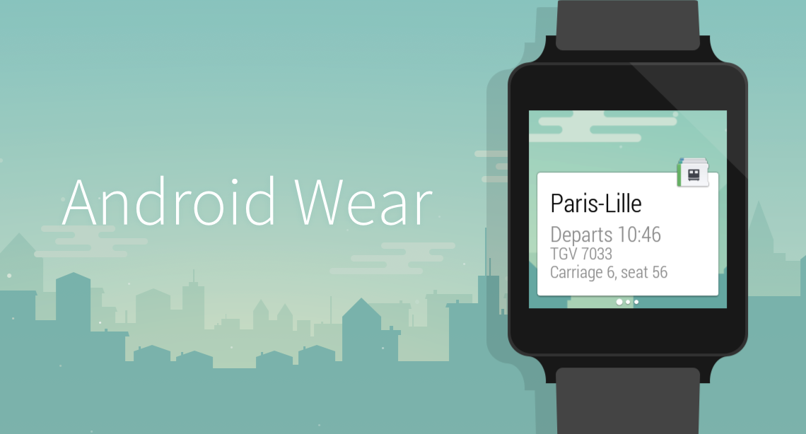 Capitaine Train Android Wearable