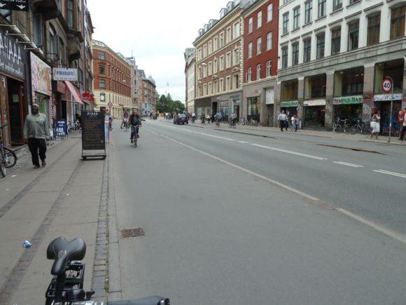 Radverkehr und Radwege in Kopenhagen