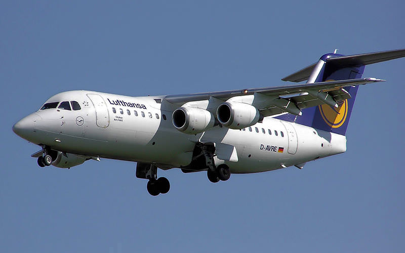 Flüsterjet British Aerospace Avro RJ85
